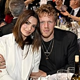 Emily Ratajkowski and Sebastian Bear-McClard at the 2020 Critics' Choice Awards