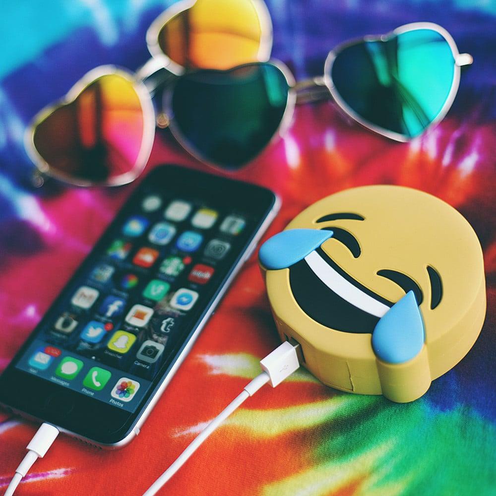 Tears of Joy Emoji Power Bank