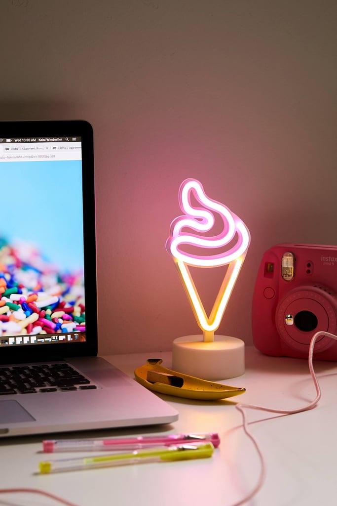 Ice Cream Mini LED Neon Table Lamp