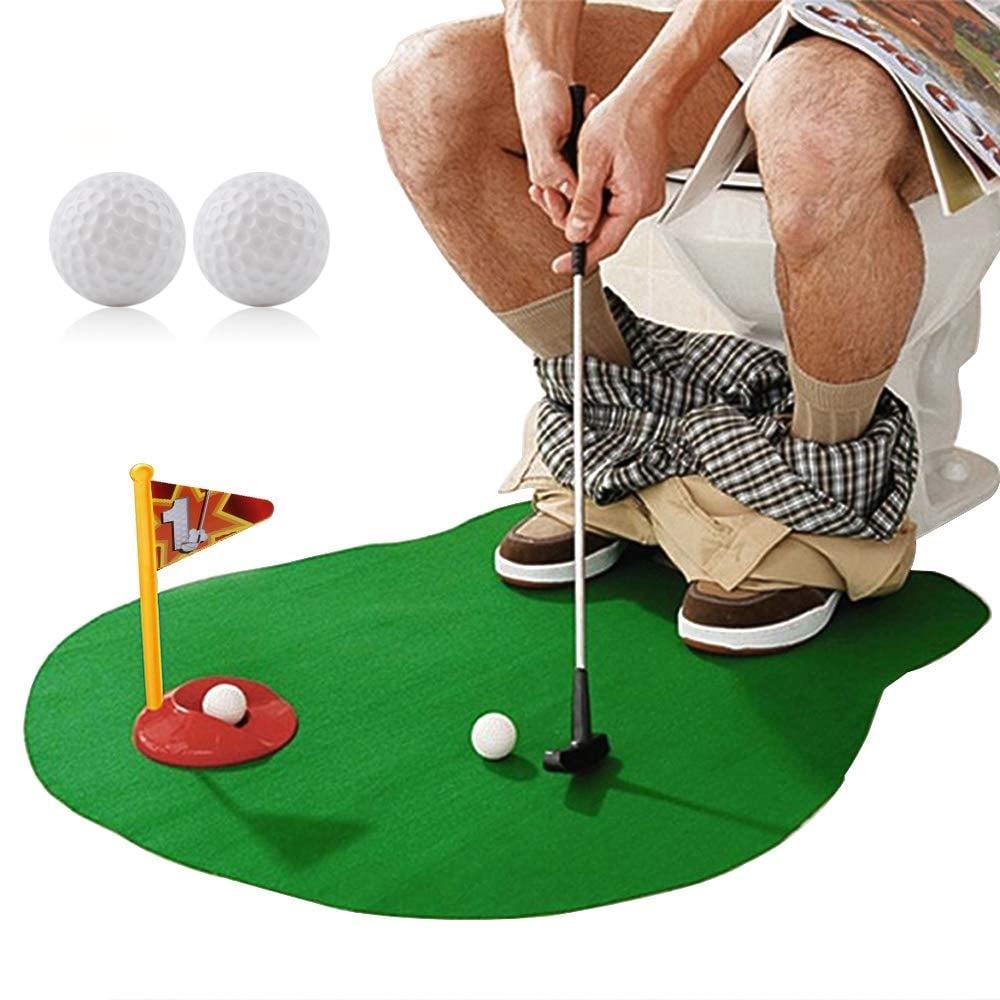 Toilet Golf Potty Golf Toilet Toy