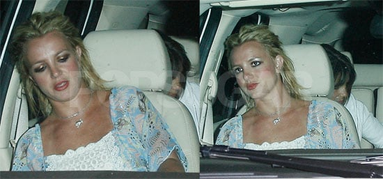 Photos of Britney Spears Leaving the Recording Studio