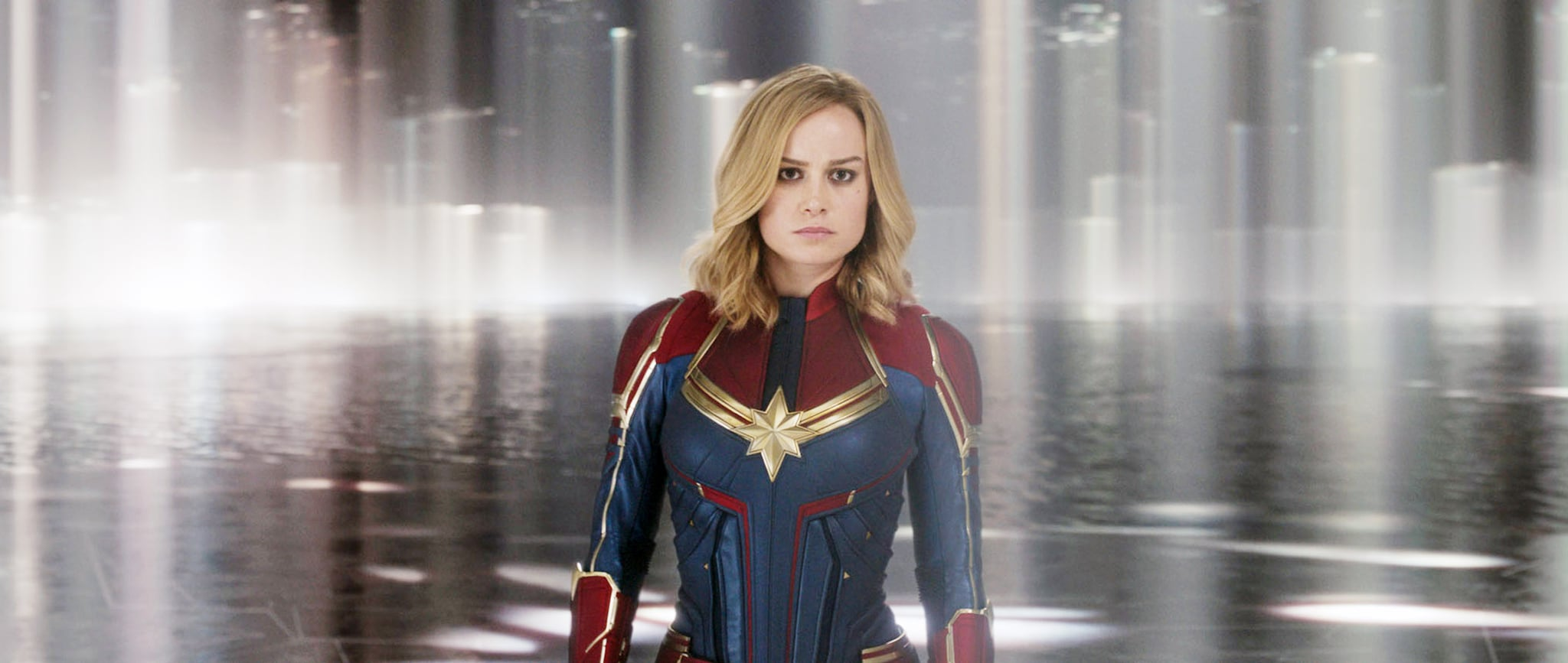 CAPTAIN MARVEL, Brie Larson as Carol Danvers / Captain Marvel, 2019.  Walt Disney Studios Motion Pictures /  Marvel / courtesy Everett Collection