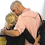 Jim Toth got cuddly with Reese Witherspoon.