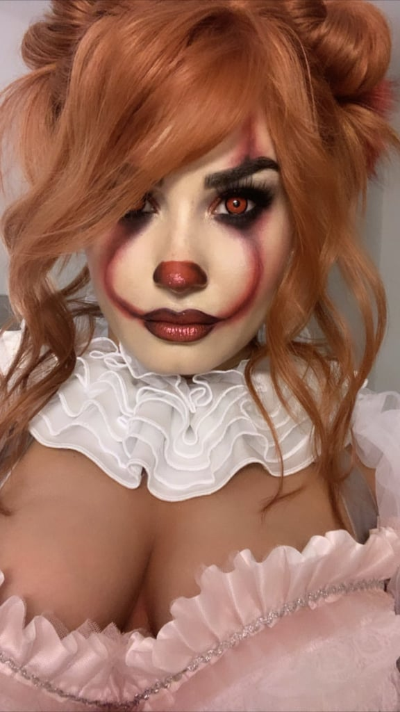 """Demi Lovato isn't messing around this Halloween! On Saturday, the 27-year-old star hit up a party dressed as the terrifying clown Pennywise from It. Demi's look was scarily on point as she rocked a fluffy white dress with an orange wig and clown makeup. Even her mom, Dianna De La Garza, got in on the action, dressing as It character Georgie Denbrough. """"My mom is the best,"""" Demi captioned a snapshot of them together. Throughout the night, the """"Sorry Not Sorry"""" singer got down on the dance floor alongside stars such as former As the Bell Rings costar Seth Ginsberg and Paris Hilton. Demi kicked off her Halloween celebrations on Oct. 25 with a Marie Antoinette costume. Taking us back to 18th-century France, she struck a couple of fierce poses in a corseted minidress with a blond wig and pearls. """"Halloween round 1... I told y'all I don't play on Halloween!! It's my time to shine,"""" she wrote. """"Glam team killed it."""" See photos of Demi's incredible costumes ahead, then check out more Halloween looks from other stars!      Related:                                                                                                           16 Demi Lovato Costume Ideas That Will Make You Cool For Halloween"""