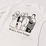 "Schitts Creek ""Bébé's First Binge"" Onesie"
