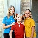 Marcia, Jan, and Cindy Brady From The Brady Bunch
