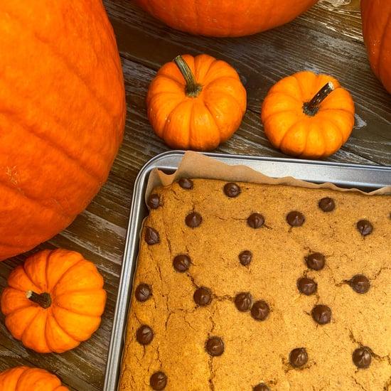 Vegan Pumpkin Spice Sheet Pan Protein Pancakes