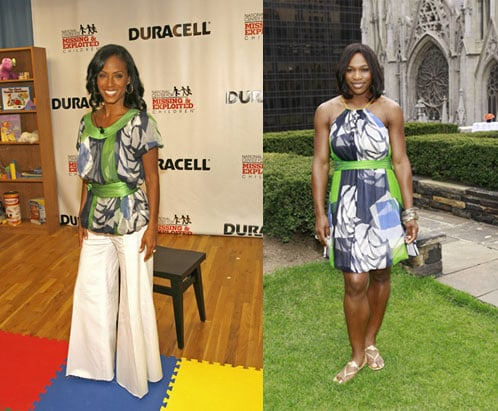 Who Wore It Better? Catherine Malandrino Spring Print
