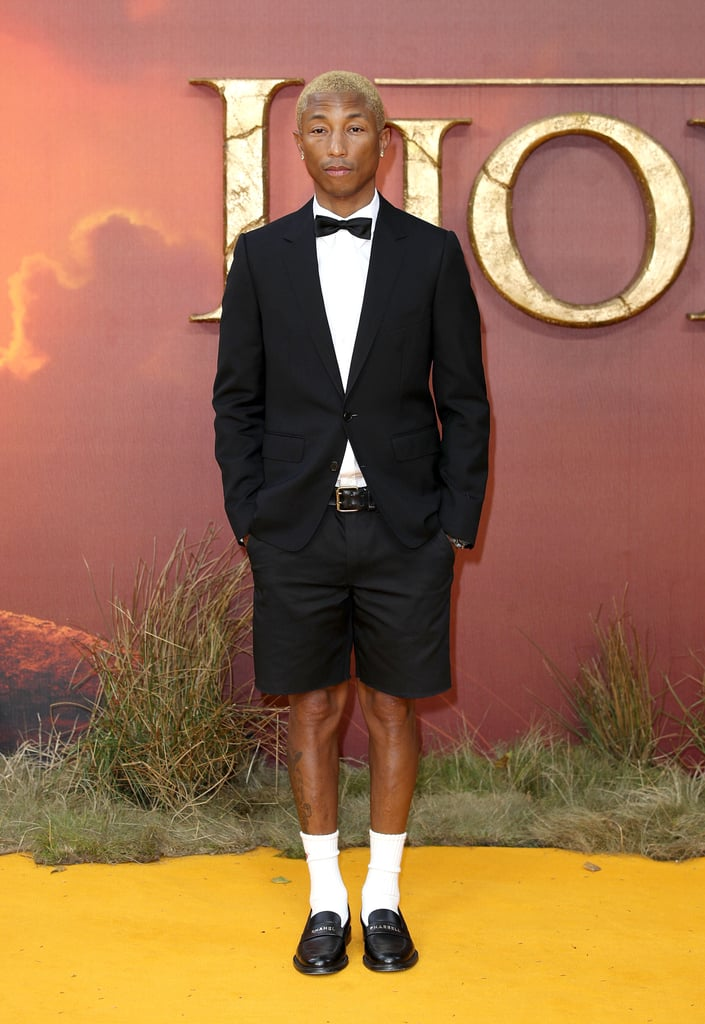 Pharrell Williams at the Lion King Premiere in London