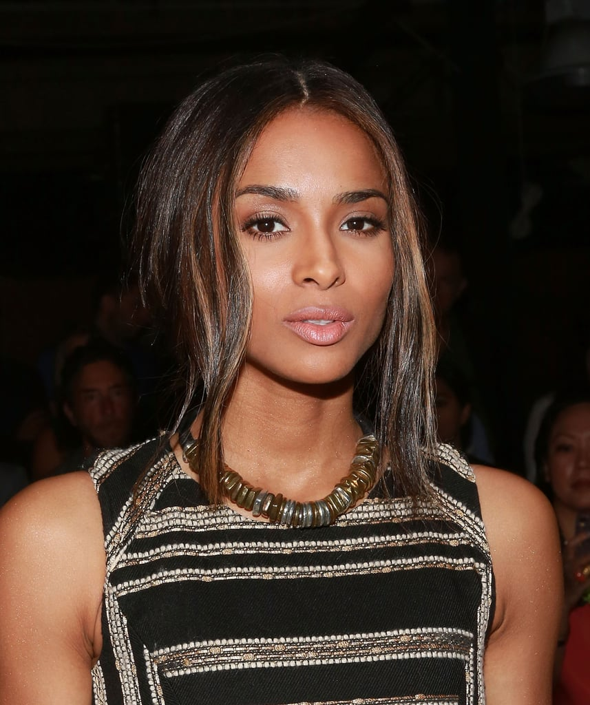 Ciara at Prabal Gurung Spring 2014.