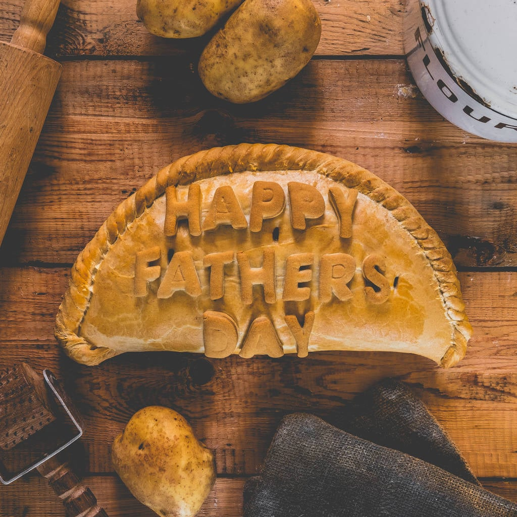 Father's Day Personalised Cornish Pasty