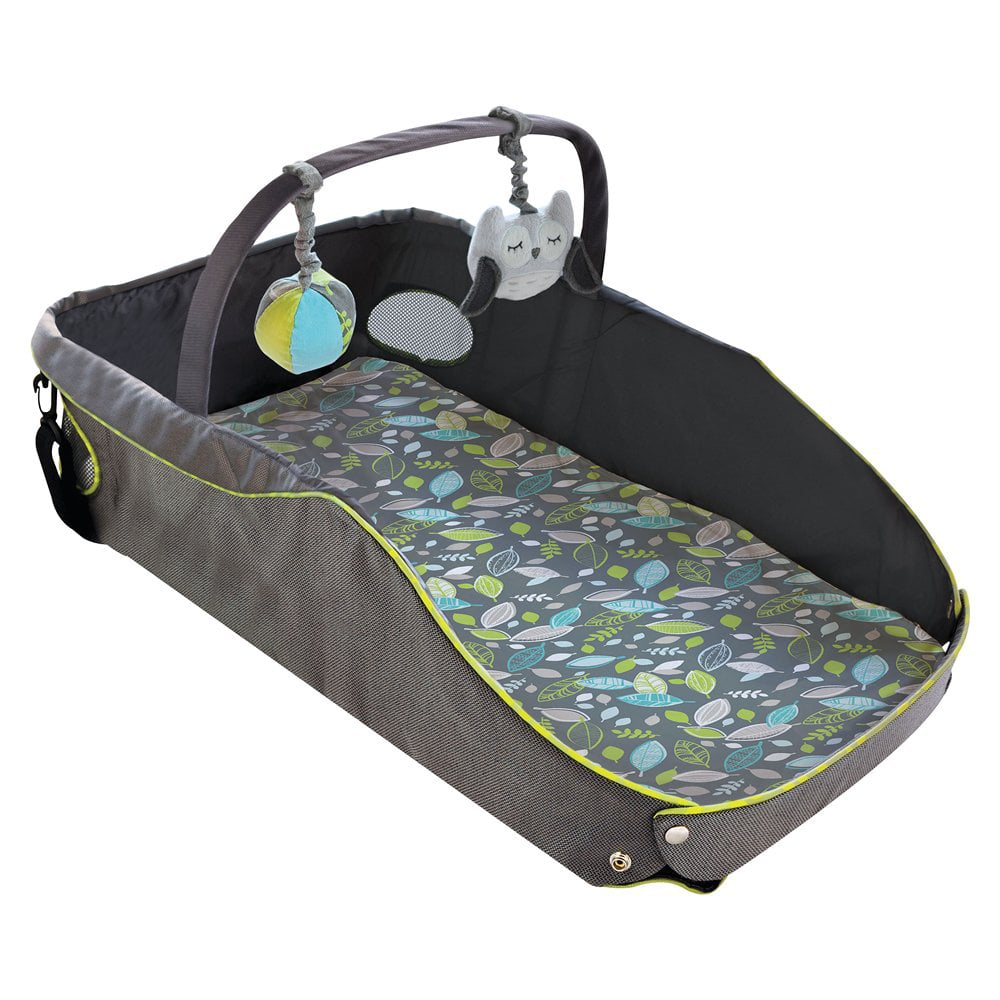 how to fold summer infant travel bed