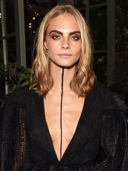 Let's Discuss: This Giant Line Down Cara Delevingne's Chest