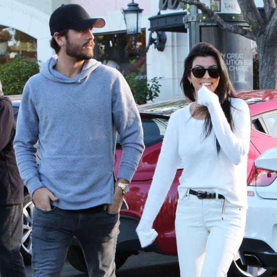 Kourtney Kardashian and Scott Disick Out in LA November 2015