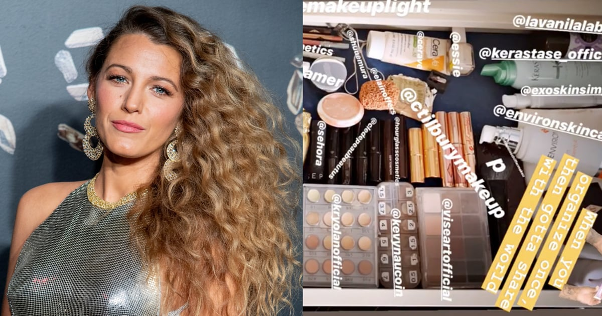 Blake Lively's Beauty Drawer on Instagram Stories ...