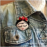 Felt Frida Brooch Pin
