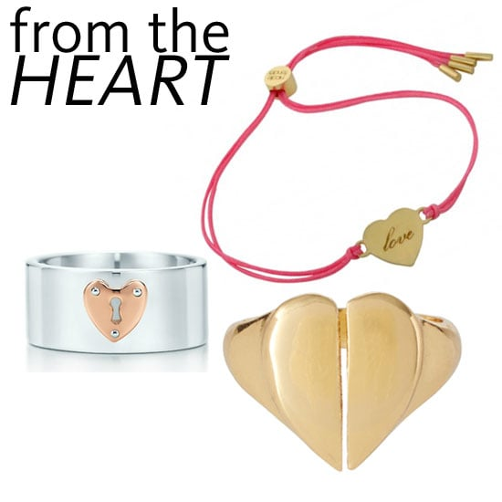 Heart Felt Valentine's Day Presents Online: Rings, Bracelets & Necklaces from Tiffany & Co, Marc by Marc Jacobs & more