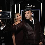 In February 2016, Jennifer posed for a photo with Billy Zane at the world premiere of Justin Theroux's film, Zoolander 2, in NYC.
