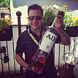 Anthony Giglio Pulled Out a Big Bottle