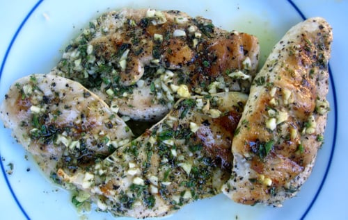 Grilled Citrus-Herb Chicken