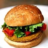 Veggie Burger on Whole-Wheat Bun