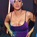 Cardi B's Lilac Wig