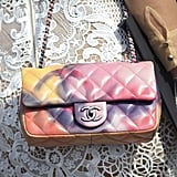 A classic Chanel purse is Summer ready with a colorful update.