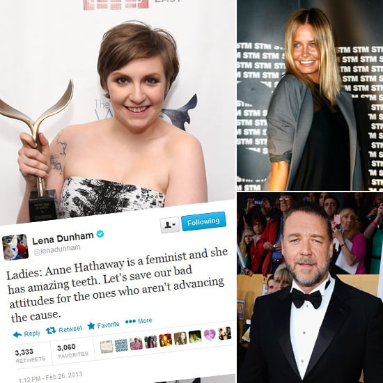 Tweets of the Week: Lena Dunham, Lara Bingle, Russell Crowe & More!