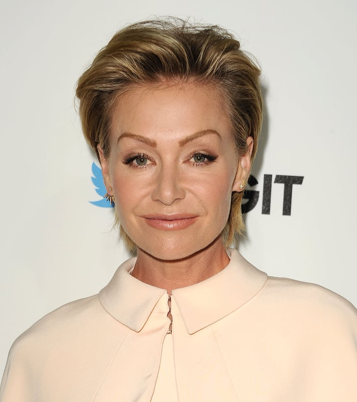 Portia De Rossi New Hair: It's True — The Modern Mullet Hair Trend