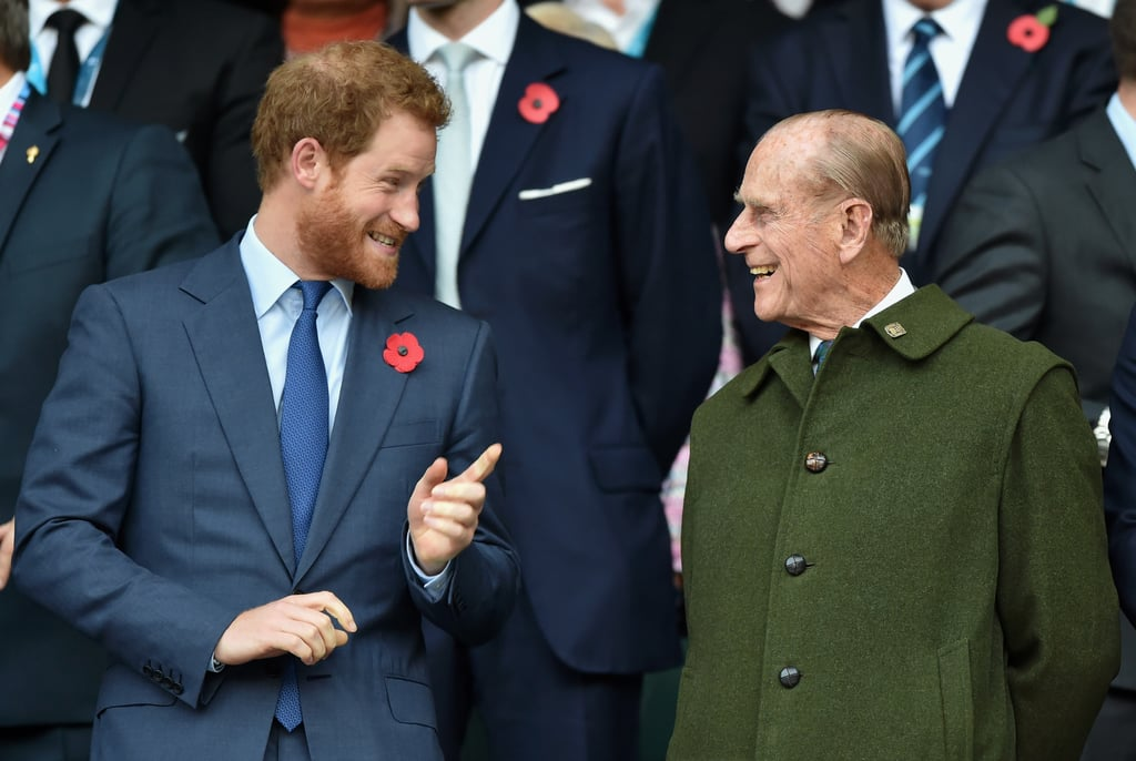 Pictures of Prince Philip With His Grandchildren