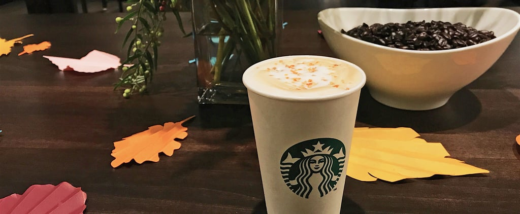 Step Aside, PSL — There's a New Fall-Ready Starbucks Latte in Town, and It's Incredible