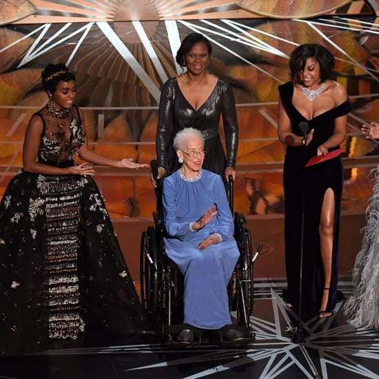 Katherine Johnson at the Oscars 2017