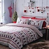Debenhams Multicoloured Christmas Scene Duvet Set
