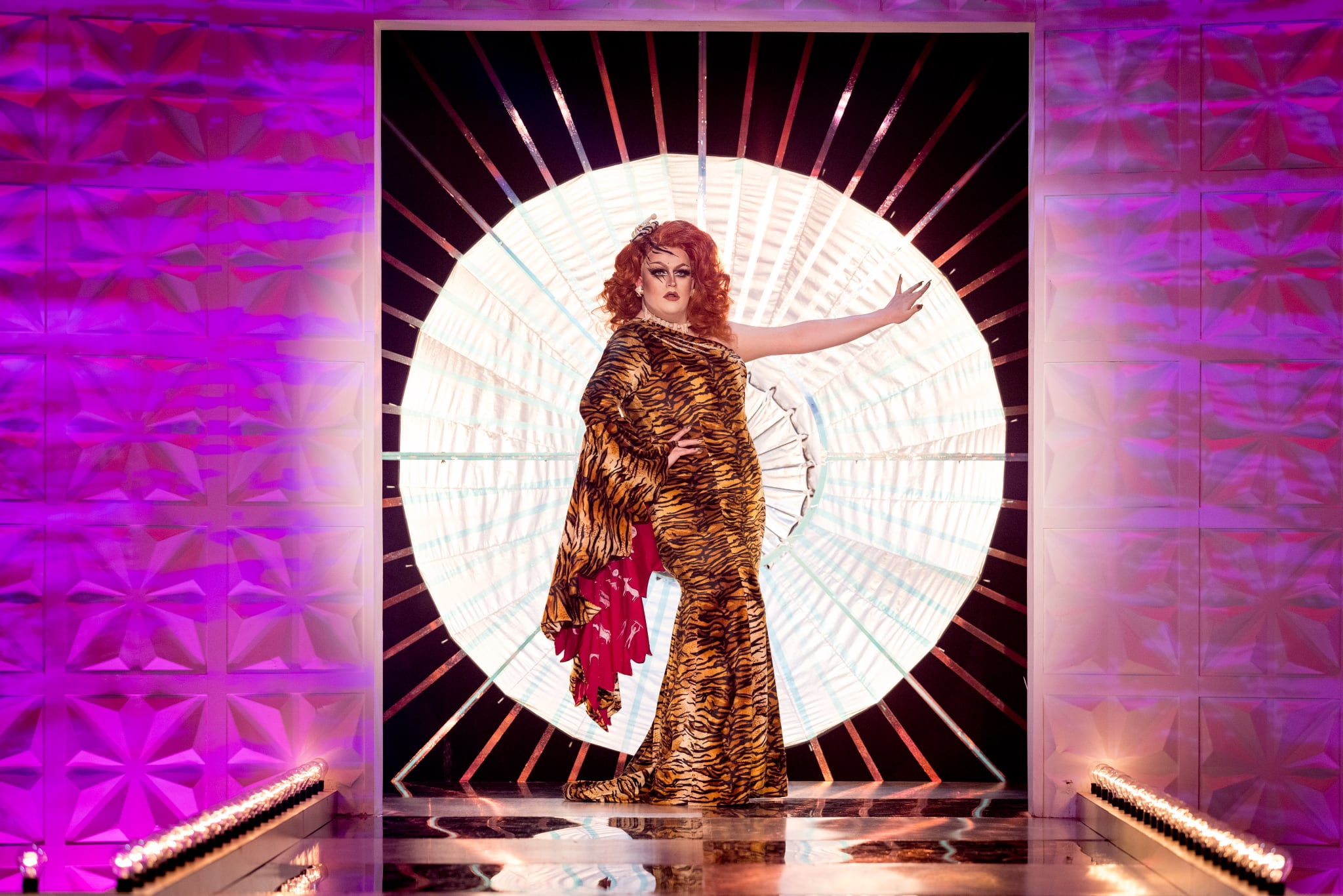 Programme Name: RuPaul's Drag Race UK series 2 - TX: n/a - Episode: RuPaul's Drag Race UK series 2 episode 6 (No. 6) - Picture Shows:  Lawrence Chaney - (C) World of Wonder - Photographer: Guy Levy