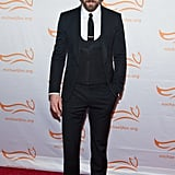 "Ryan Reynolds got dressed up for a good cause on Saturday. He attended The Michael J. Fox Foundation's gala ""A Funny Thing Happened on the Way to Cure Parkinson's"" in NYC."