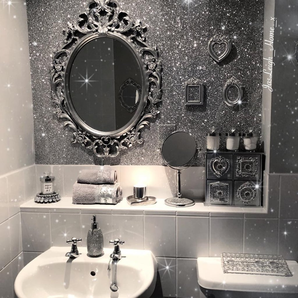 Glitter Paint And Wallpaper Trend Ideas