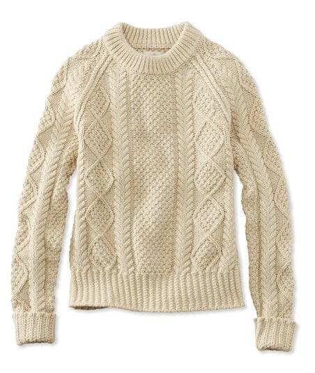 L.L. Bean Signature Cotton Fisherman Sweater | Best Sweaters on ...