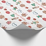 Christmas Holiday Cookies Wrapping Paper