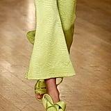 Halpern Shoes on the Runway at London Fashion Week