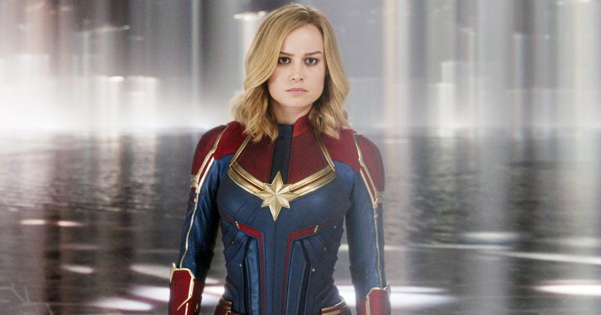 Why Does Captain Marvel Have Short Hair In Avengers Endgame Popsugar Entertainment