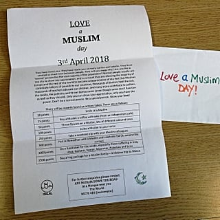 Response to Punish a Muslim Day Letters