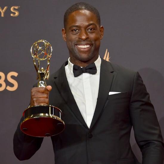Sterling K. Brown Talking Backstage at the Emmys 2017