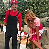 Mario, Princess Peach, and Toad