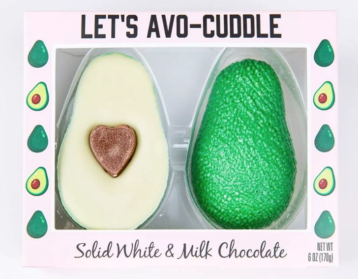 Target S Avocado Shaped Valentine S Day Chocolate Is So Cute Popsugar Food
