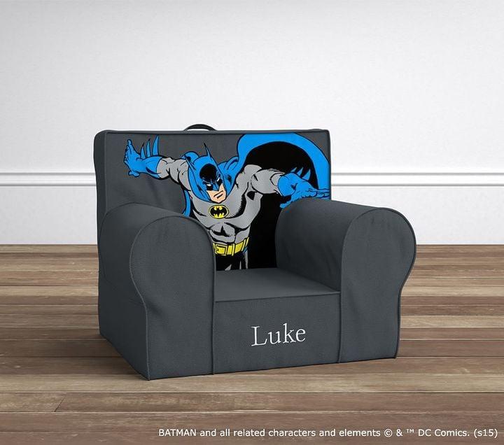 Pottery Barn Kids Batman Anywhere Chair Superhero Gifts