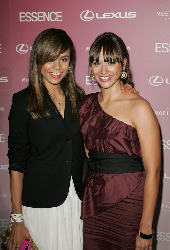 Kidada and Rashida stuck close on the red carpet at the Essence Black Women in Hollywood luncheon in 2008.