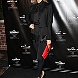 Stacy Keibler went out in NYC.