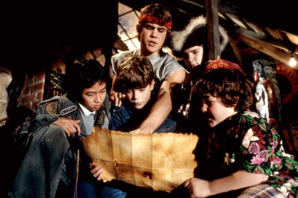 A quote from The Goonies, as well as a VHS tape.