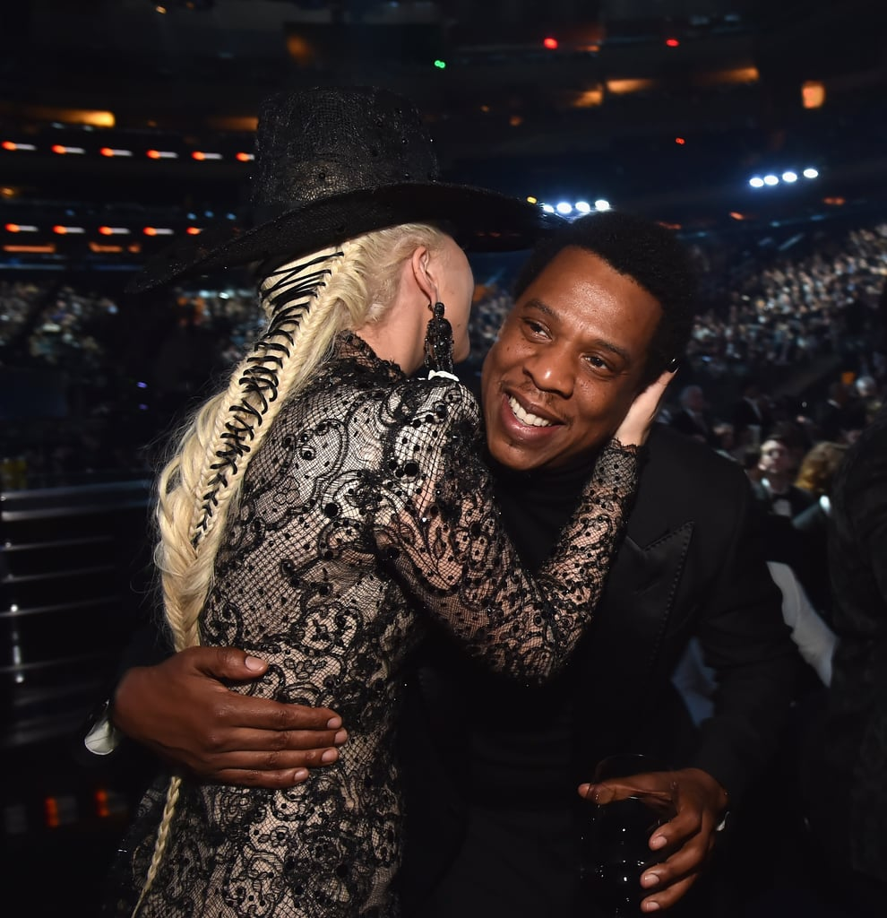 Pictured: Lady Gaga and JAY-Z