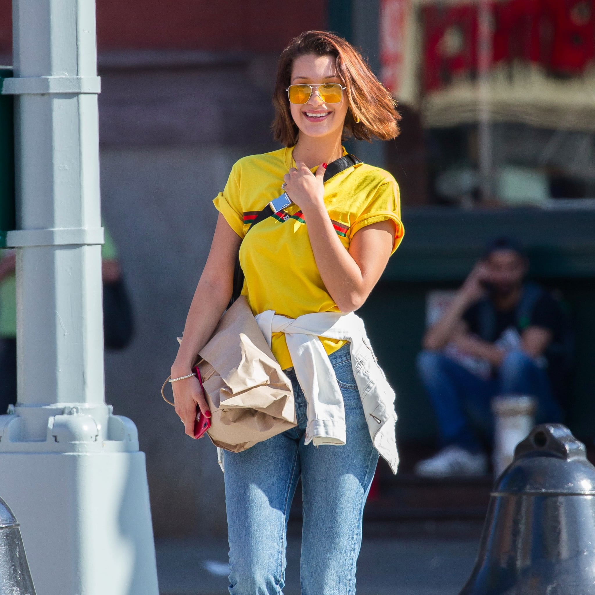 Resultado de imagen para celebs with yellow sunglasses
